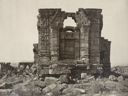 Kashmir. Temple of Marttand or the Sun. View looking west. Probable date A.D. 490 to 555